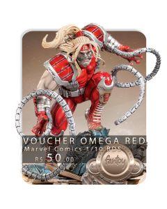 Voucher de Reserva - Omega Red 1/10 BDS Art Scale - Marvel Comics -  Iron Studios