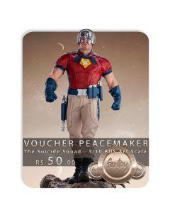 Voucher de Reserva - Peacemaker - 1/10 BDS Art Scale - The Suicide Squad - Iron Studios