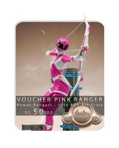 Voucher de Reserva - Pink Ranger - 1/10 BDS Art Scale - Power Rangers - Iron Studios