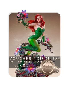 Voucher de Reserva - Poison Ivy 1/10 Art Scale - DC Comics Series 5 - Iron Studios