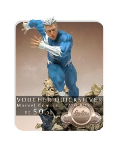 Voucher de Reserva - Quicksilver 1/10 BDS Art Scale - Marvel Comics - Iron Studios