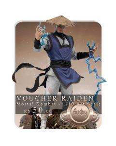 Voucher de Reserva - Raiden - 1/10 Art Scale - Mortal Kombat - Iron Studios