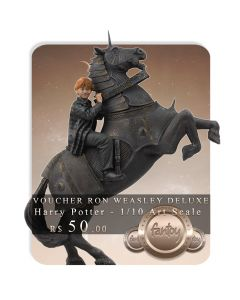Voucher de Reserva - Ron Weasley at the Wizard Chess Deluxe - 1/10 Art Scale - Harry Potter and the Philosopher's Stone - Iron Studios