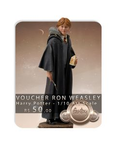 Voucher de Reserva - Ron Weasley - 1/10 Art Scale - Harry Potter - Iron Studios