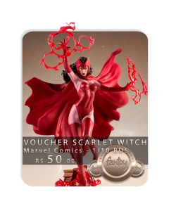 Voucher de Reserva - Scarlet Witch 1/10 BDS Art Scale - Marvel Comics - Iron Studios