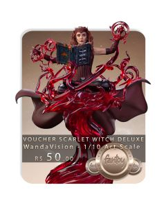 Voucher de Reserva - Scarlet Witch Deluxe - 1/10 Art Scale - WandaVision - Iron Studios