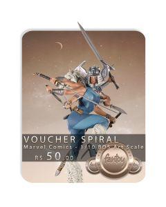 Voucher de Reserva - Spiral - 1/10 BDS Art Scale - Marvel Comics - Iron Studios