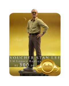 Voucher de Reserva - Stan Lee - 1/4 Legacy Replica - Iron Studios