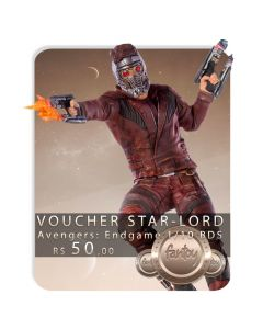 Voucher de Reserva - Star-Lord 1/10 BDS - Avengers: Endgame - Iron Studios