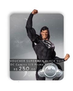 Voucher de Reserva - Superman Black Suit 1/3 Prime Scale - DC Comics by Ivan Reis - Iron Studios