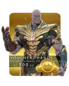 Voucher de Reserva - Thanos 1/4 Legacy Replica (VERSÃO DELUXE) - Avengers: Endgame - Iron Studios