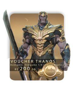 Voucher de Reserva - Thanos 1/4 Legacy Replica (VERSÃO REGULAR) - Avengers: Endgame - Iron Studios
