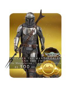 Voucher de Reserva - The Mandalorian and The Child - 1/4 Legacy Replica - The Mandalorian - Iron Studios