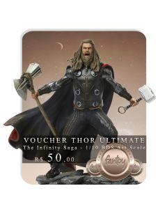 Voucher de Reserva - Thor Ultimate - 1/10 BDS Art Scale - The Infinity Saga - Iron Studios