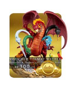 Voucher de Reserva - Tiamat Battle - 1/20 Demi Art Scale - Dungeons & Dragons - Iron Studios