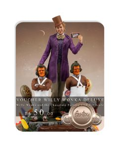 Voucher de Reserva - Willy Wonka Deluxe - 1/10 Art Scale - Willy Wonka and the Chocolate Factory - Iron Studios
