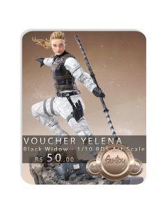 Voucher de Reserva - Yelena - 1/10 BDS Art Scale - Black Widow - Iron Studios