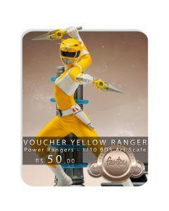 Voucher de Reserva - Yellow Ranger - 1/10 BDS Art Scale - Power Rangers - Iron Studios