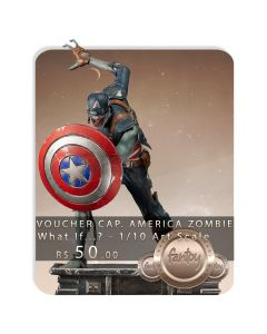 Voucher de Reserva - Captain America Zombie - 1/10 Art Scale - What If...? - Iron Studios