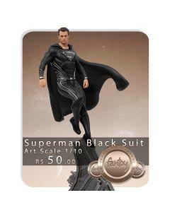 Voucher de Reserva - Superman Black Suit - 1/10 Art Scale - Zack Snyder's Justice League - Iron Studios