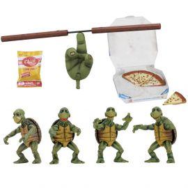 Baby Turtles Set - Teenage Mutant Ninja Turtles - 1/4 Scale Action Figures - Neca