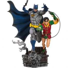Batman & Robin Deluxe 1/10 Art Scale - DC Comics - Iron Studios