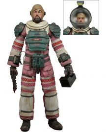 Arthur Dallas (Compression Suit) - Alien - Series 4 - NECA
