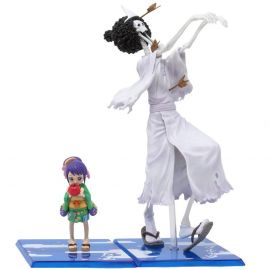Brook and O-Tama (Honekichi) - FiguartsZERO - One Piece - Bandai