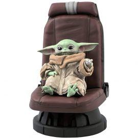 The Child in Chair - 1/2 Scale Statue - The Mandalorian - Diamond