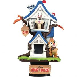 Chip 'n Dale Treehouse- D-Stage - Disney - Beast Kingdom