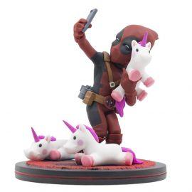 Deadpool #Unicornselfie - Q-Fig Diorama - Marvel Comics - Quantum Mechanix