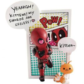 Deadpool Jump Out 4th Wall - Mini Egg Attack - Marvel Comics - Beast Kingdom