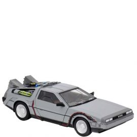 """Time Machine - 6"""" Die-Cast Vehicle - Back to the Future - NECA"""