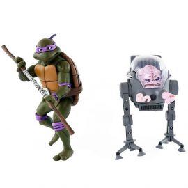Donatello vs Krang - Teenage Mutant Ninja Turtles - 2-Pack - Neca
