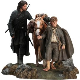 Aragorn & Samwise - The Lord of the Rings - Diorama - WETA