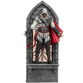 Ezio Auditore 1/10 Art Scale (VERSÃO DELUXE) - Assassin's Creed - Iron Studios