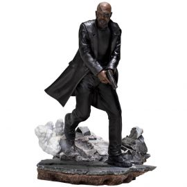 Nick Fury 1/10 BDS - Spider-Man: Far From Home - Iron Studios