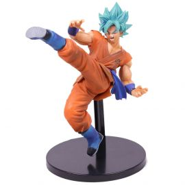 Goku God Blue (New Color Ver.) - Fes!! Figure - Dragon Ball Super - Banpresto - COM DEFEITO