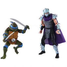 Leonardo Vs Shredder - Teenage Mutant Ninja Turtles - 2-Pack - Neca