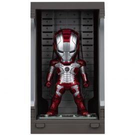 Iron Man Mark V with Hall of Armor - Mini Egg Attack - Iron Man 3 - Beast Kingdom