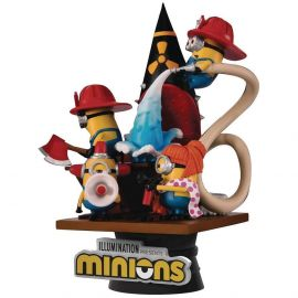 Minions (Fire Fighters) - D-Stage - Despicable Me - Beast Kingdom