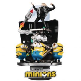 Minions (Stealing The Moon) - D-Stage - Despicable Me - Beast Kingdom