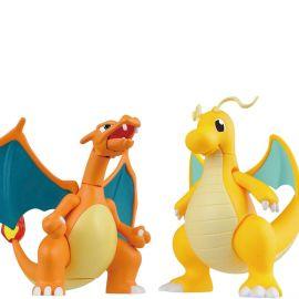 Charizard & Dragonite - Model Kit Set - Pokemon - Bandai