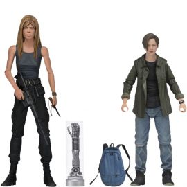 "Sarah and John Connor - 7"" Scale Action Figure - Terminator 2 - Neca"