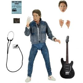 """Ultimate Marty McFly (Audition) - 7"""" Scale Action Figure - Back to the Future - Neca"""