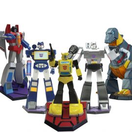 "Pack Transformers - 9"" Statue - Premium Collectibles Studio"