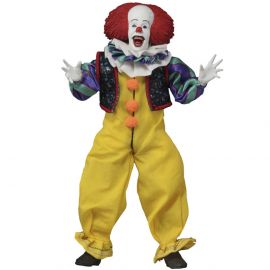 "Pennywise - 8"" Clothed Figure - It (1990) - NECA"