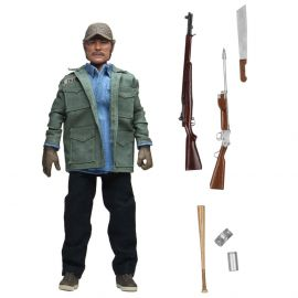 """Quint - 8"""" Clothed Action Figure - Jaws - NECA"""