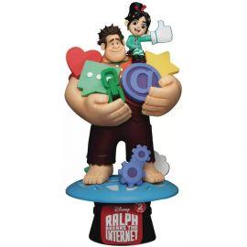 Ralph With Vanellope - D-Stage - Disney - Beast Kingdom