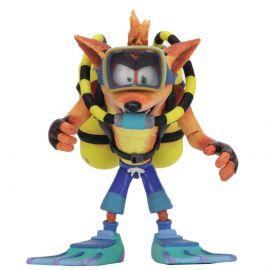 "Crash Scuba Gear Deluxe - Crash Bandicoot - 7"" Scale Action Figure - NECA"